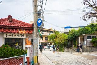沖縄のやちむん通りの写真・画像素材[1565104]