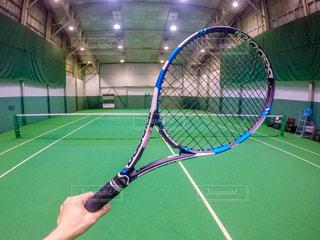 品川プリンスのテニスコートの写真・画像素材[1565109]