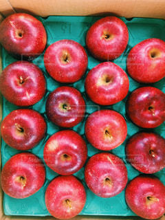 赤いリンゴの写真・画像素材[1619189]