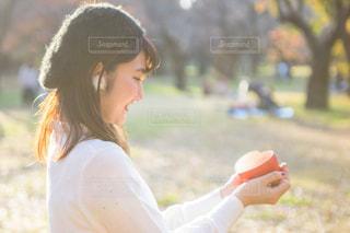 片思いの女の子 バレンタインの写真・画像素材[1662925]