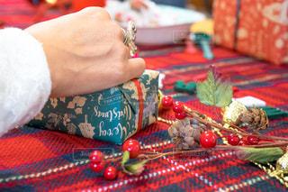 クリスマスのホームパーティーの写真・画像素材[1668530]