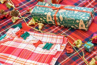 クリスマスのホームパーティーでの装飾の写真・画像素材[1668533]