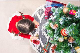 クリスマスの子供の写真・画像素材[1669124]