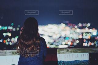 奥秩父の美の山公園の夜景の写真・画像素材[1853900]