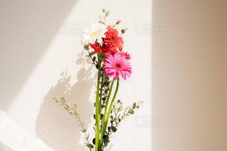 花束を持つ女性の写真・画像素材[2097806]