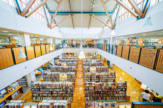 南相馬市立中央図書館の写真・画像素材[2498639]
