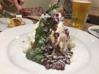 和風のパンケーキの写真・画像素材[2869540]