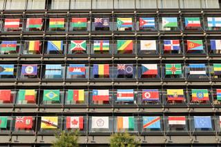 各国の旗の写真・画像素材[853181]
