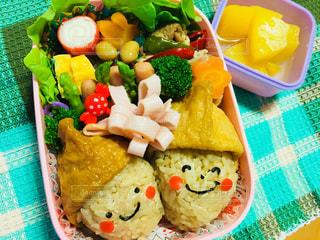 秋のお弁当の写真・画像素材[1716604]