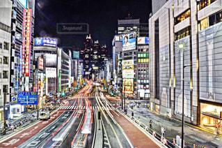 新宿南口にての写真・画像素材[1086915]