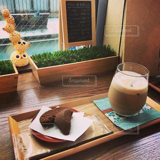 カフェの写真・画像素材[605523]
