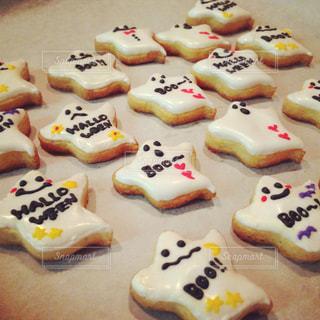 ハロウィンの手作りクッキーの写真・画像素材[1394723]