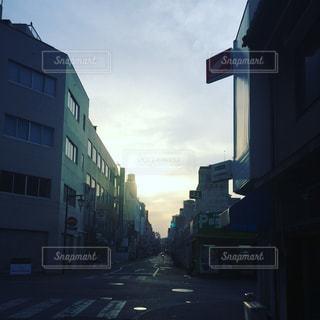街の通りの写真・画像素材[1172101]