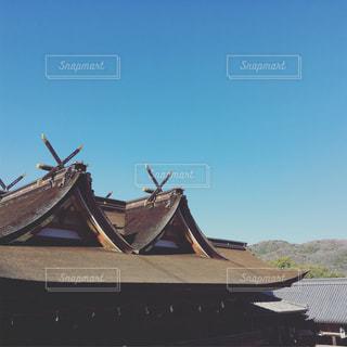 神社の屋根の写真・画像素材[1716406]