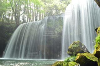 滝のシャワーの写真・画像素材[1180771]
