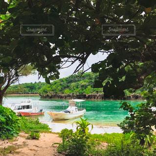 川平湾の砂浜の写真・画像素材[2365309]