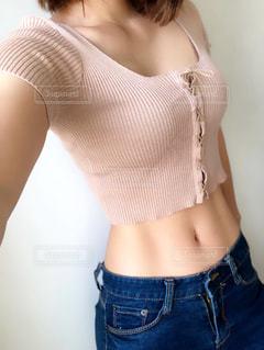 腹筋の写真・画像素材[1417267]
