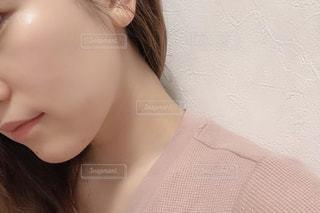 スッピン肌の写真・画像素材[2140523]