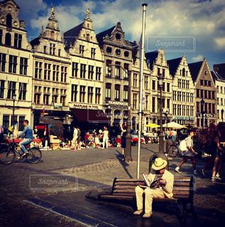 旅行  一人  ヨーロッパ アムステルダムの写真・画像素材[607923]