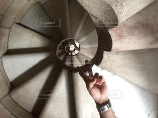 螺旋階段の写真・画像素材[610774]