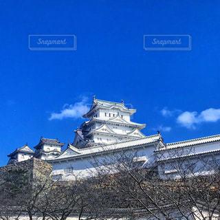 大規模な石造りの建物の写真・画像素材[1006201]