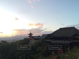 夕日の写真・画像素材[610797]