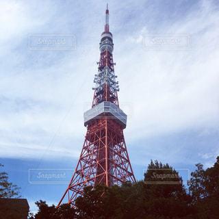 東京タワーの写真・画像素材[614110]