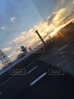 夕日の写真・画像素材[611718]
