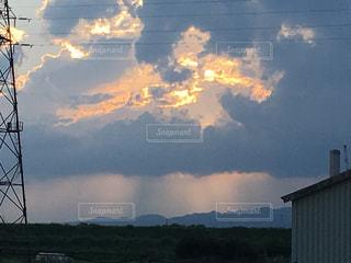 空の雲の写真・画像素材[751383]