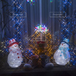 クリスマスイルミネーションの写真・画像素材[912950]