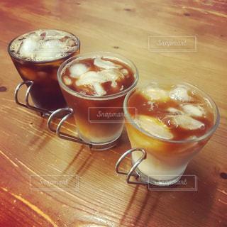 アイスコーヒー3種類 - No.1163766