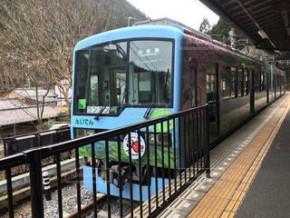 京都叡山電鉄にての写真・画像素材[1823497]