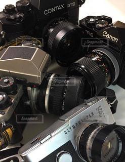 カメラのクローズアップの写真・画像素材[2950275]