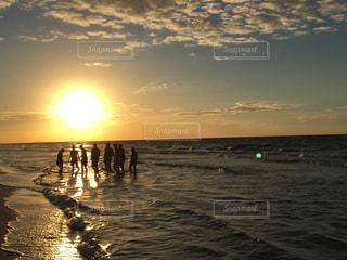 夕日の写真・画像素材[659578]
