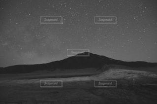 阿蘇の星空の写真・画像素材[822578]