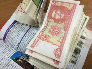 キューバ紙幣の写真・画像素材[824137]