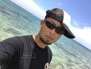 青い海の写真・画像素材[615587]