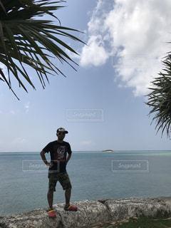 青い海の写真・画像素材[615611]