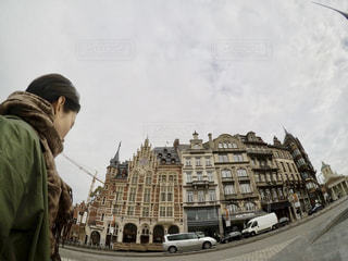 ブリュッセルの街並みの写真・画像素材[877707]