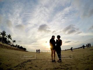 サンセットビーチの写真・画像素材[878326]