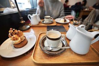 カフェで一息の写真・画像素材[1022303]
