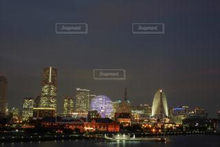 横浜の夜景の写真・画像素材[2329315]