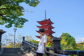 宮島にての写真・画像素材[2490692]