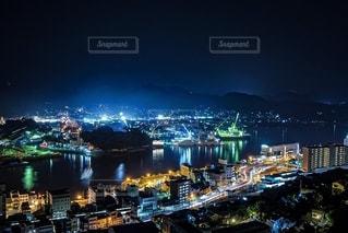 尾道の夜景の写真・画像素材[2615029]