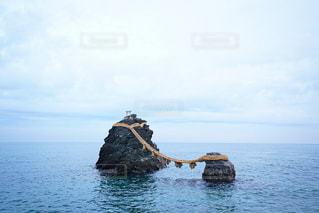 二見浦の夫婦岩の写真・画像素材[2888636]