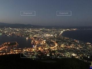函館の夜景の写真・画像素材[1353640]