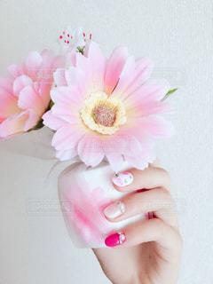 花とネイルの写真・画像素材[922334]