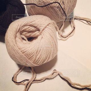 アルパカの糸玉の写真・画像素材[618066]