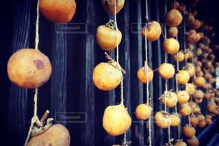 軒下の干し柿日本の秋の写真・画像素材[736080]
