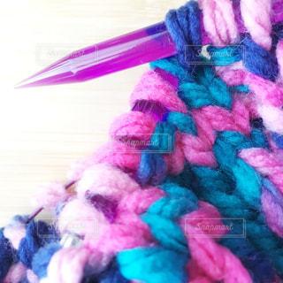 カラフルな手編みの写真・画像素材[920825]